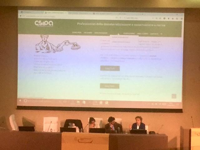 CSIPA - La digitalizzazione dello Studio Legale ed i profili deontologici della professione forense nell'era digitale